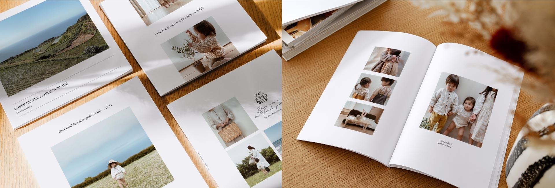 Fotobuch mit Softcover Einband