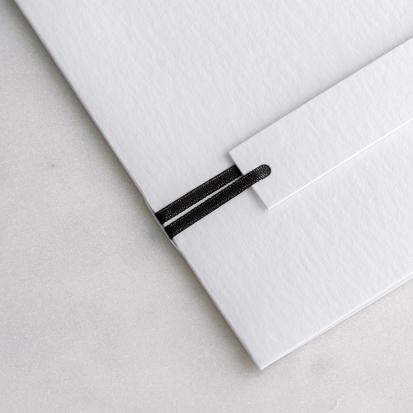 Satinband Schwarz 90 cm