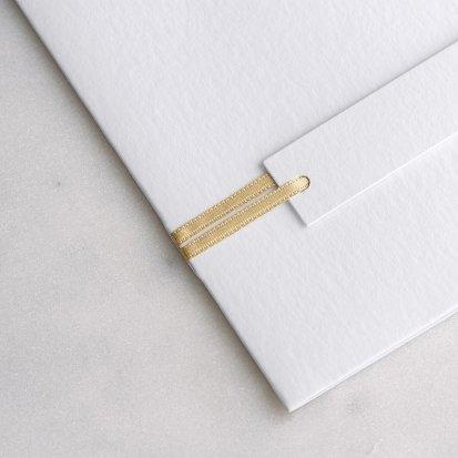 Satinband Gold 90 cm