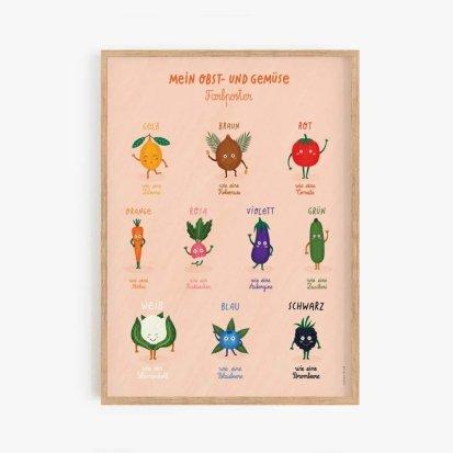 """Poster """"Meine Farbkarten"""""""