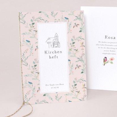 Vogelgezwitscher rose